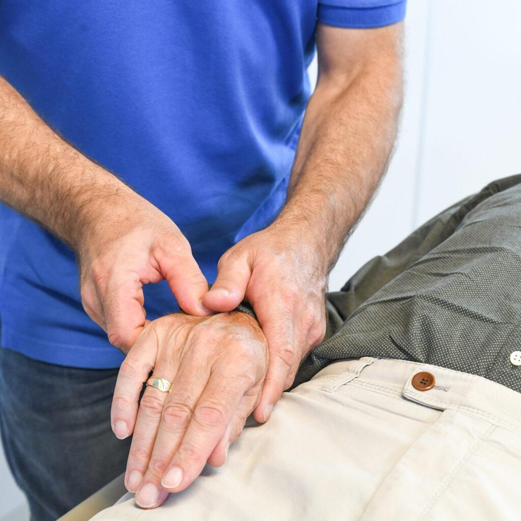 BSR behandeling - hand release