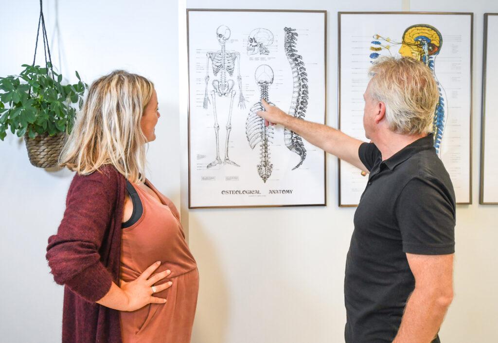uitleg poster zwangere vrouw